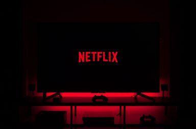 Netflix TV screen
